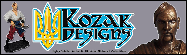 Kozak Designs - Ukrainian Statues and Collectibles