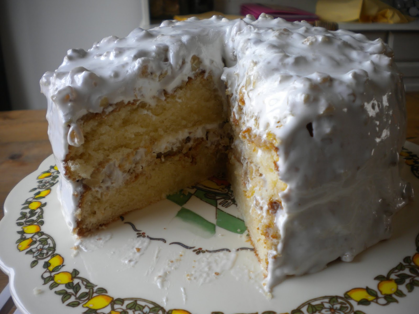 Conny Bakes: Lady Baltimore Cake from South Carolina