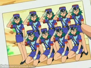 Clones Officer Jenny XXX Nurse Joy Pokemon hentai