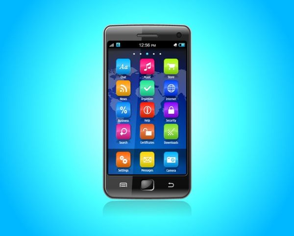 Free Smart Phone Render Vectors