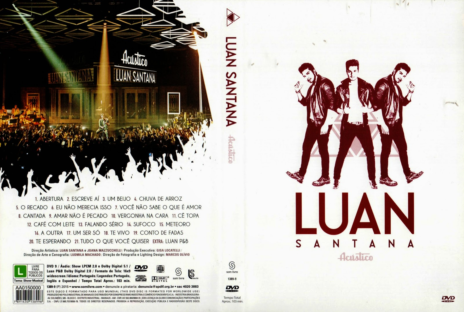 Download Luan Santana Acústico DVD-R Luan Santana Acustico XANDAODOWNLOAD
