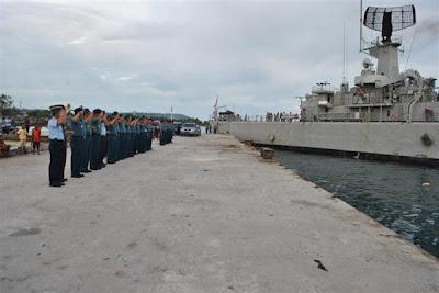 KRI Yos Sudarso 353 Melaksanakan Patroli Pulau Terluar