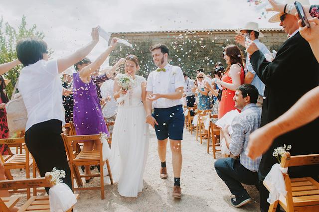 boda campestre rural masia barcelona otaduy pajarita