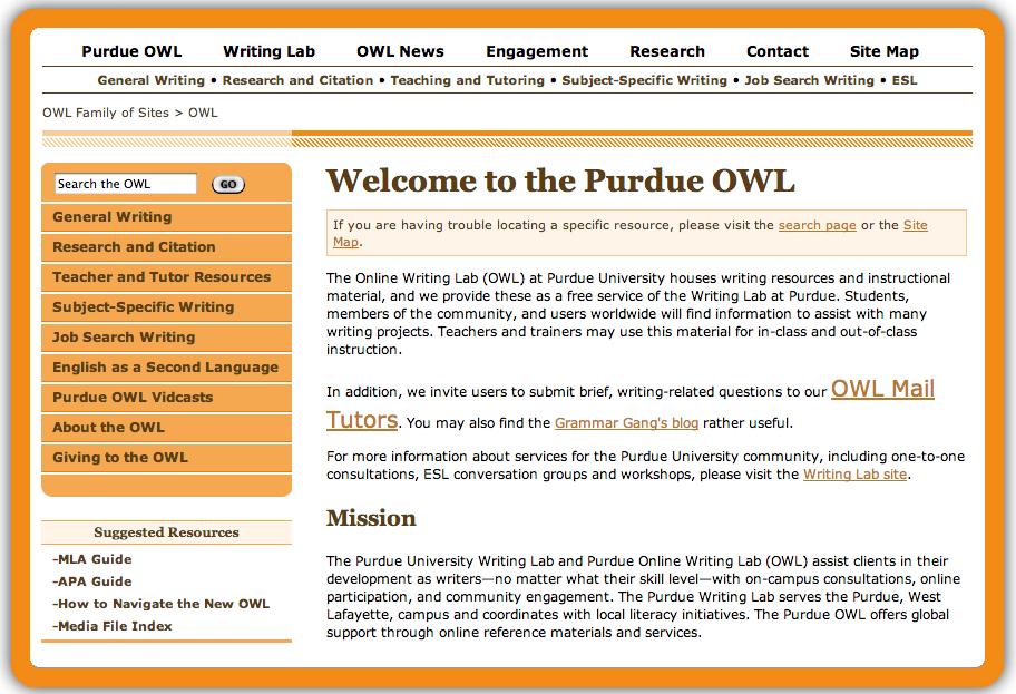 owl argumentative essay