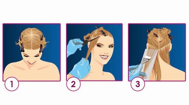 Como fazer mechas coloridas e luzes nos cabelos
