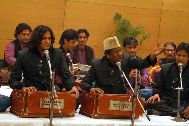 Nizami Brothers Performed at Delhi's Lohri Party