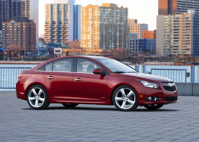 2011-Chevrolet-Cruze-Front-Side-View-Red-Color