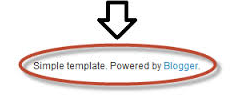 "remove ""powered by blogger"" attribution in 1 minute"