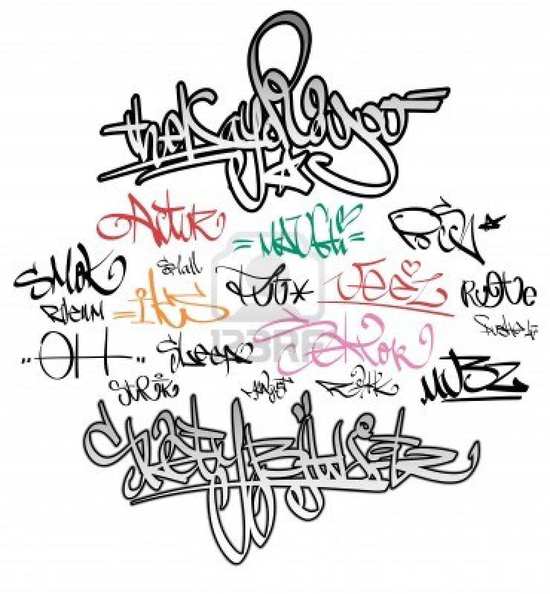Rap Graffiti Font - Bing images
