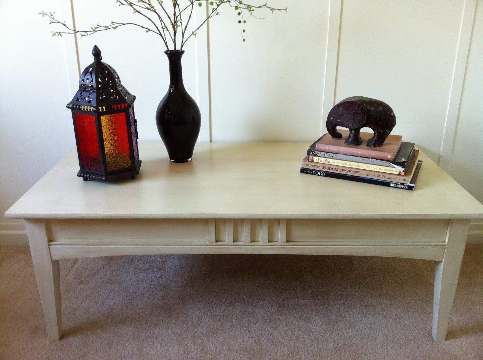 {Thomasville Coffee Table}   Custom Refinish
