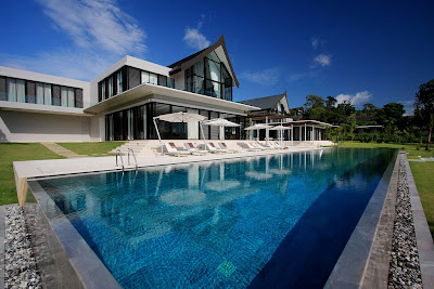 Luxury beach house, Cape Yamu, Phuket, Thailand
