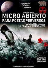 Recital de LA PLAYA SUBTERRÁNEA