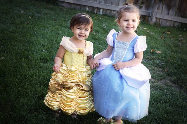 how to sew belle and cinbderella costumes