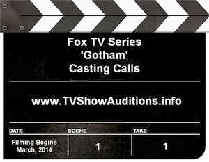 How to audition for Fox series Gotham and find casting calls