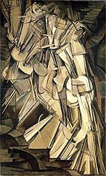 Marcel Duchamp - Nude Descending a Staircase No.2, 1912