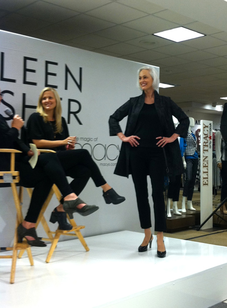 Cast Images, Model, San Francisco, Macy's, Eileen Fisher