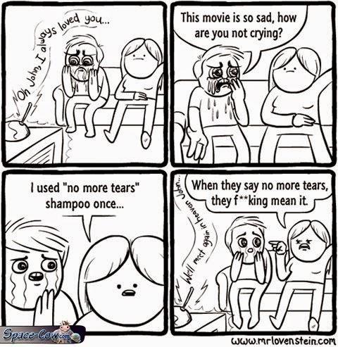 funny comics shampoo picture