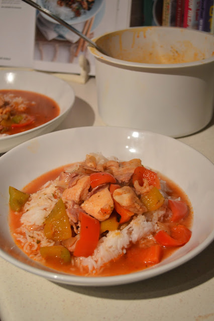 Seafood Pepperpot stew
