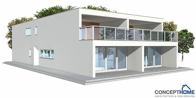 Co83d 2 Modern Duplex House Plan Duplex House Plans
