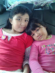 Asterisk's Twinkle Little Stars * : ADRIANNA SOFEA (7 yrs old) and ALEESYA SUMAIRA (4 yrs old)