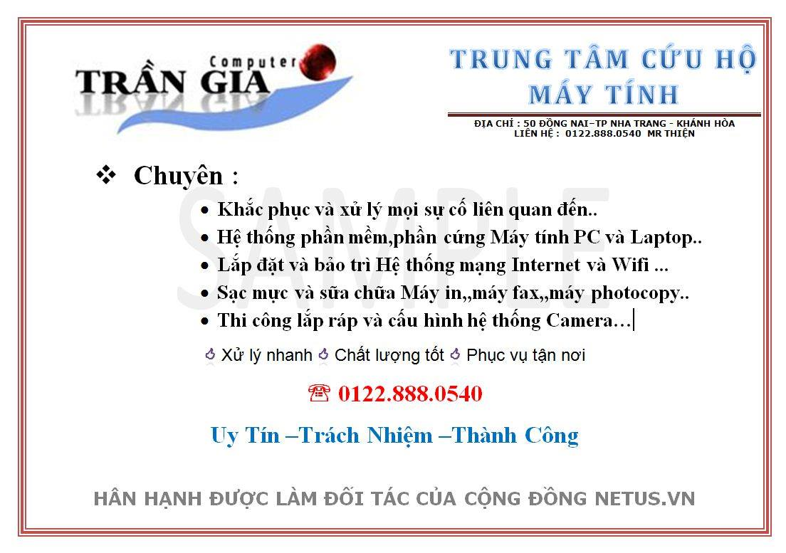 Trần Gia Computer