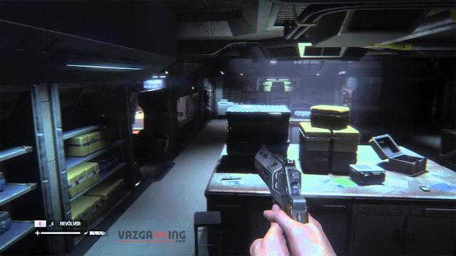 Alien Isolation Gameplay 1