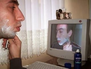 Smešne slike: novi način brijanja