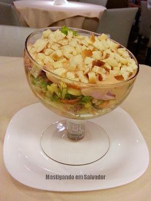 O Árabe Cozinha Árabe: Salada O Árabe