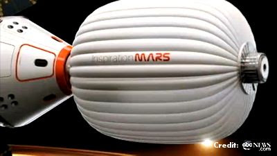 Inspiration Mars -  to the Red Planet by 2018