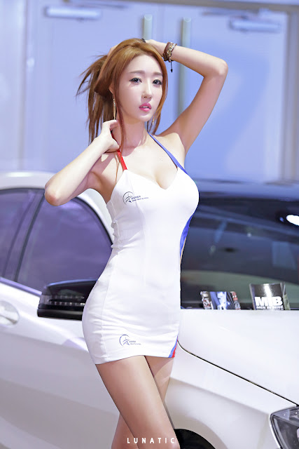 5 Yee Ah Rin - Hansung Motor Show - very cute asian girl-girlcute4u.blogspot.com