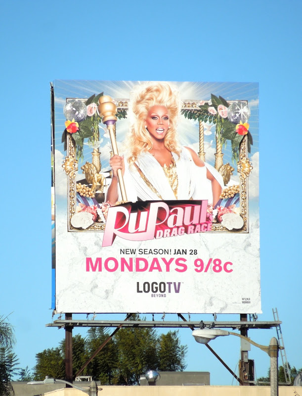 RuPaul's Drag Race season 5 billboard