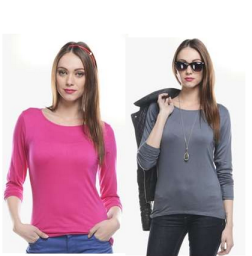 Buy WBPC Cotton Spandex Top For Women's at flat 75% off at Rs.249 : Buy To Earn
