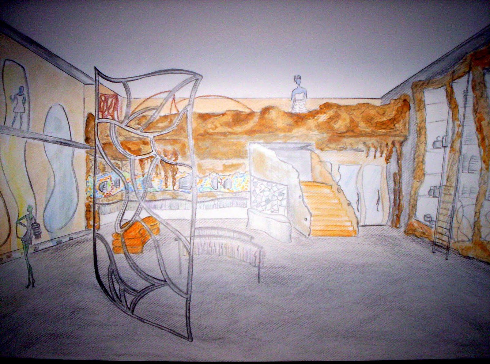 Dise o de interiores proyecto tienda de ropa 2009 - Proyecto de diseno de interiores ...