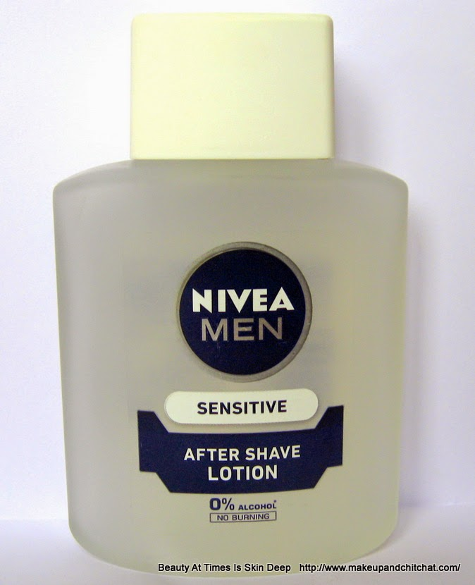Nivea Aftershave Lotion for Sensitive Skin