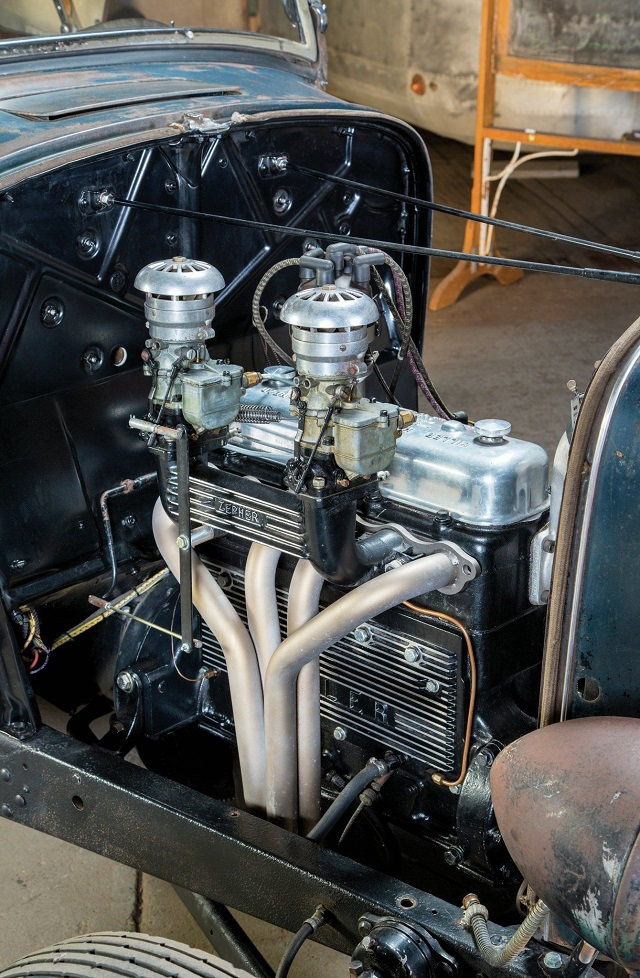Deuce Roadster Model B Engine