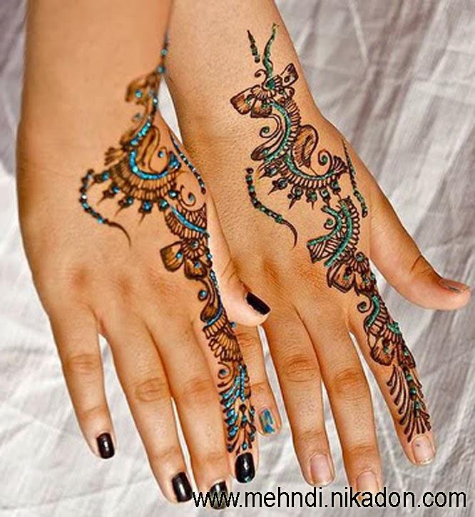 Mehndi Henna Glitter : Beautiful wallpapers glitter henna mehndi designs images