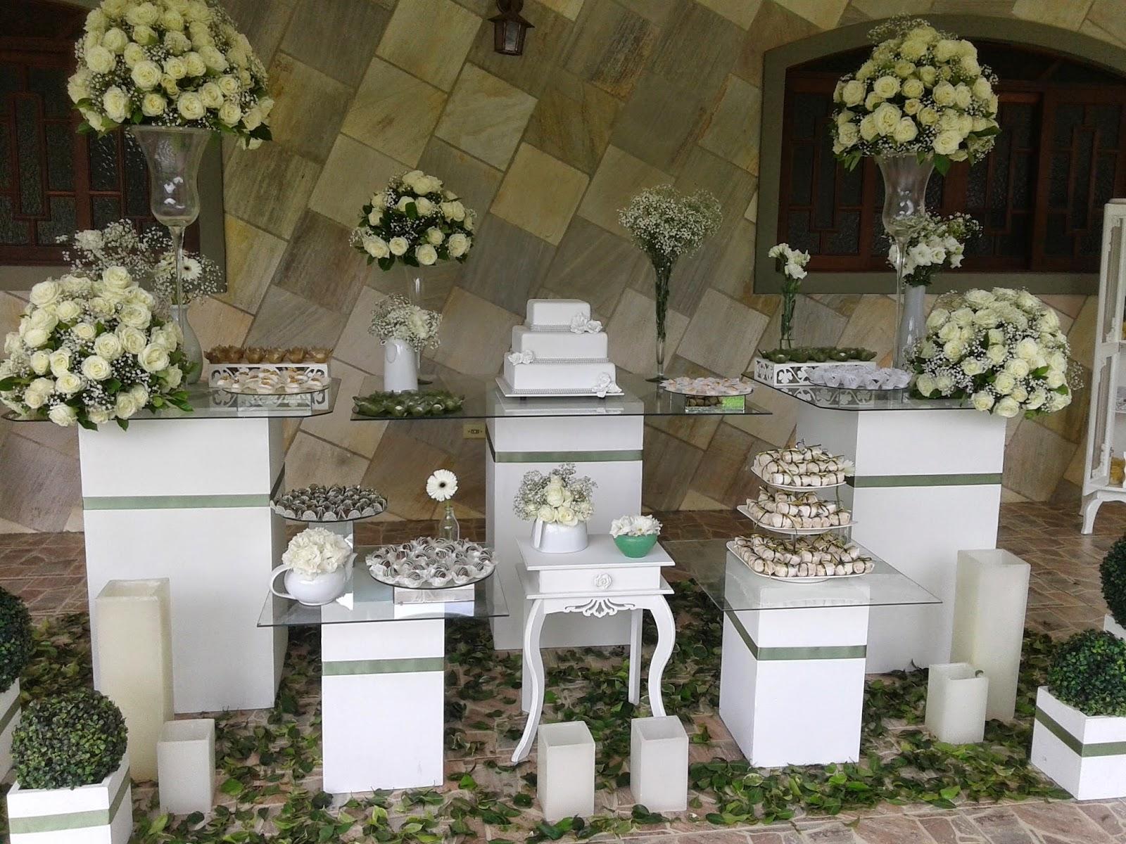 decoracao branca e verde para casamento : decoracao branca e verde para casamento:de Casamentos e Festa Tagliari: Decoração de Casamento – Verde e