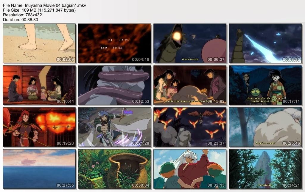 Inuyasha Movie 3 Subtitle Indonesia Bagian 1 2
