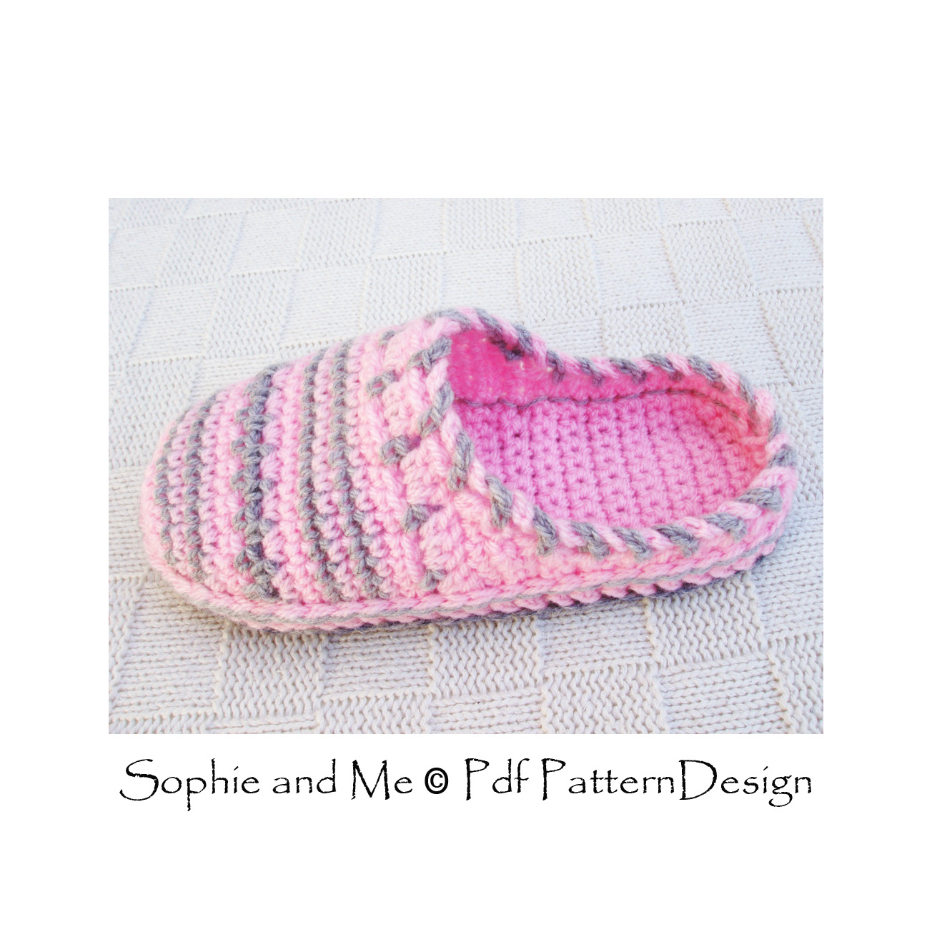 Free crochet pattern for slip on slippers dancox for sophie and me sweater clog slip in crochet slippers free crochet pattern bankloansurffo Choice Image