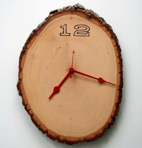Como hacer un Reloj con Madera