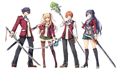 New Legend Of Heroes Vita Characters