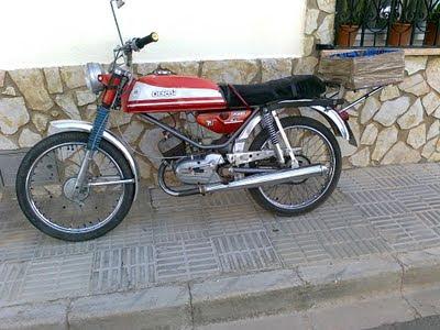Moto exposición