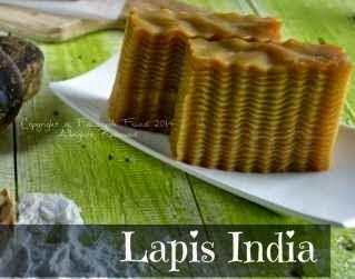 Resep Kue Lapis India Bergelombang Sempurna