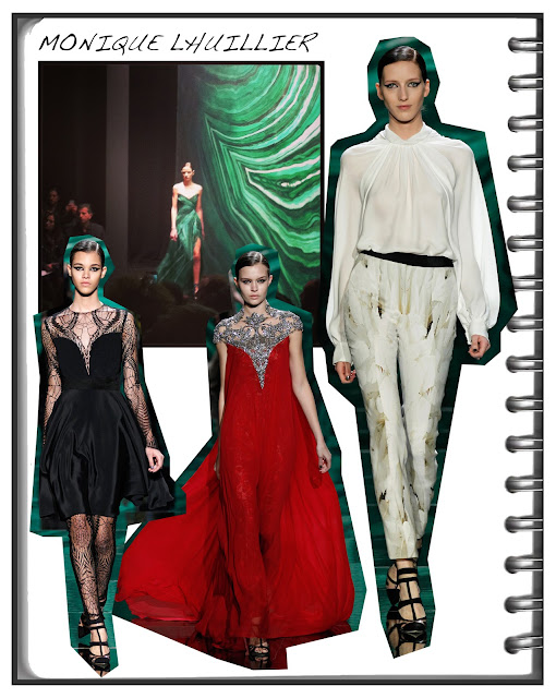 My day two NEW YORK fashion week fall/winter 13 highlights featuring Monique Lhuillier