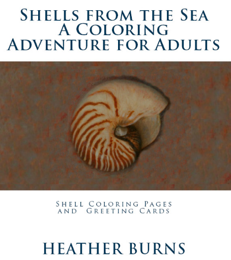 Shells From the Sea Coloring Book