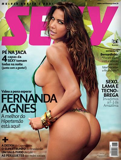 Fernanda Agnes pelada