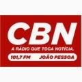 ouvir a Rádio CBN FM 101,7 João Pessoa PB