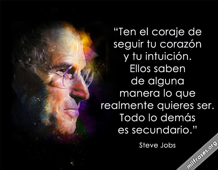 frases de Steve Jobs, cofundador de Apple Inc.