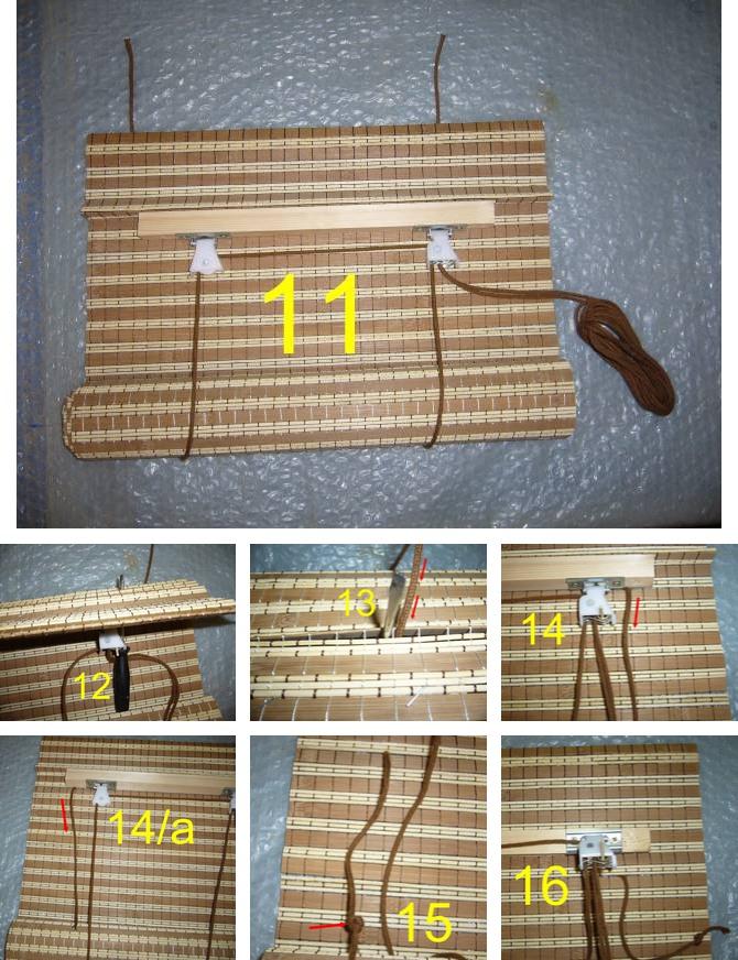 Bambus roletne po meri: Kako zameniti kanap na bambus roletni?