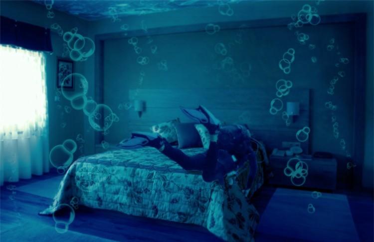 in dreams underwater hotel room
